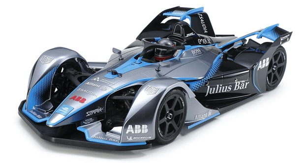 Tamiya TC-01 Chassis With Formula E Gen2 Body