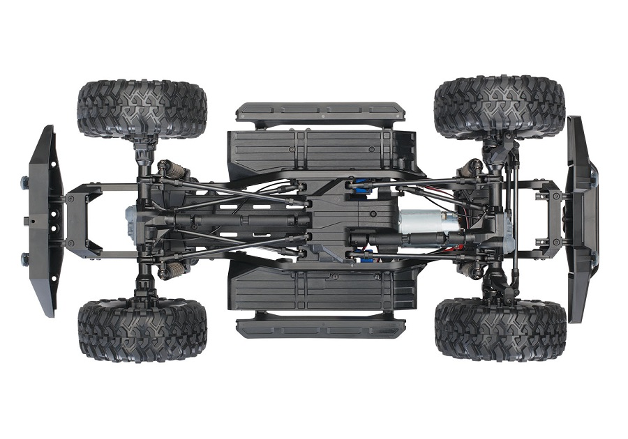 Traxxas TRX-4 Now Available With Blue Land Rover Defender Body