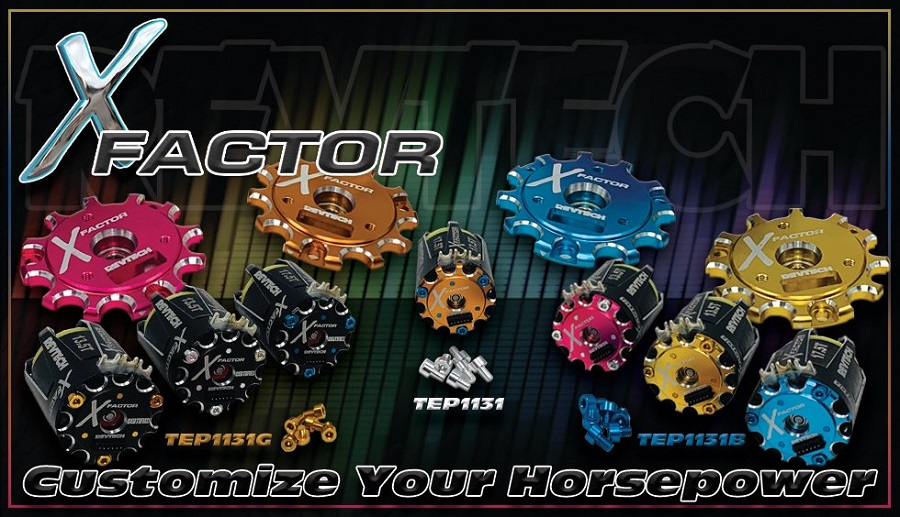 Trinity Announces New X-Factor Color Customization Options