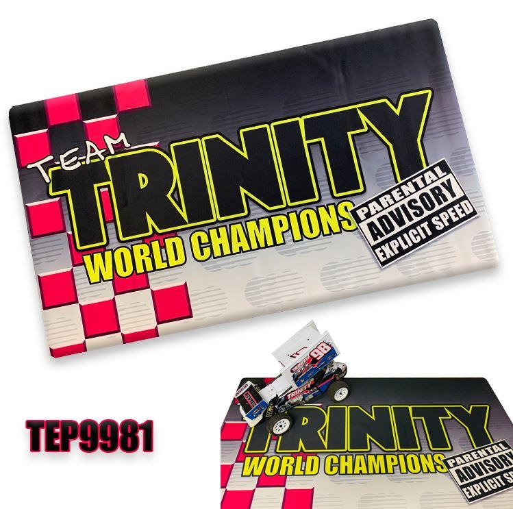 "Trinity Retro ""Parental Advisory"" Pit Mat"