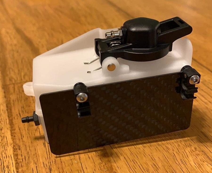 VRP HB D819 Carbon Fiber Fuel Tank Heat Shield