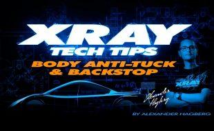 XRAY Tech Tips: Body Anti Tuck And & Backstop [VIDEO]