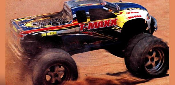 "#TBT The ""New"" Traxxas TRX 2.5 T-Maxx"