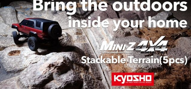 Kyosho Mini-Z 4×4 Stackable Terrain [VIDEO]