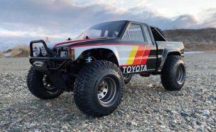 Retro Toyota Trophy Truck