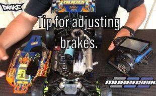 Adjusting Brakes Tip With Mugen's Adam Drake [VIDEO]