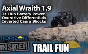 Axial Wraith 1.9 – Horizon Insider Trail Fun [VIDEO]