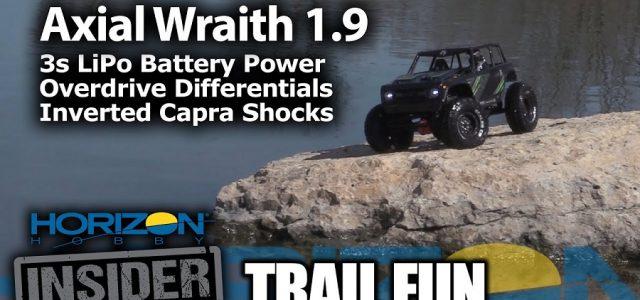 Axial Wraith 1.9 – Horizon Insider Trail Fun [VIDEO]