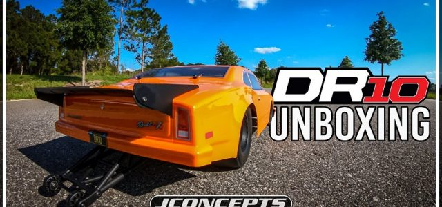 DR10 Drag Race Car Unboxing [VIDEO]