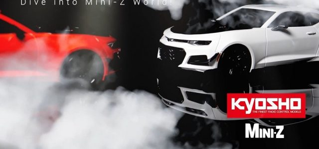 Dive Into The Mini-Z World With The Kyosho Chevrolet Camaro ZL1 [VIDEO]