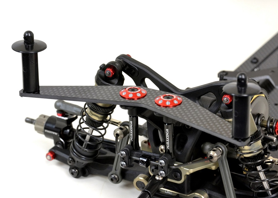 Exotek Carbon Fiber Body Mount Plates For The B6, XB2, 22 & RB7