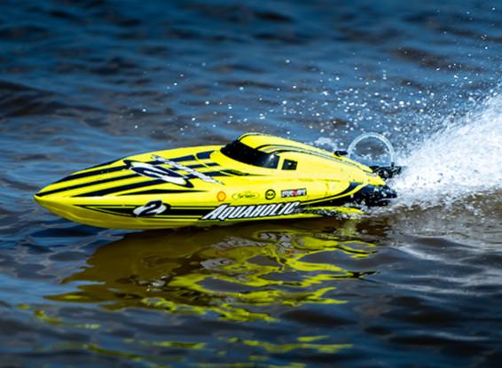 HobbyKing Aquaholic V2 Brushless Powered Deep Vee Racing Boat