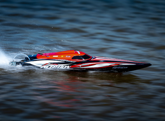 HobbyKing HydroPro Inception Brushless RTR Deep Vee Racing Boat 950mm