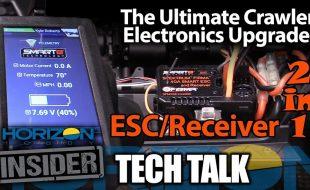 Horizon Insider Tech Talk: Spektrum Smart 2-In-1 Crawler ESC/Receiver [VIDEO]