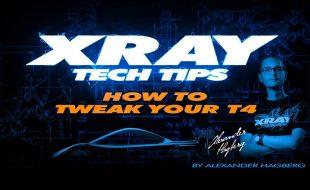How To Tweak Your XRAY T4 [VIDEO]