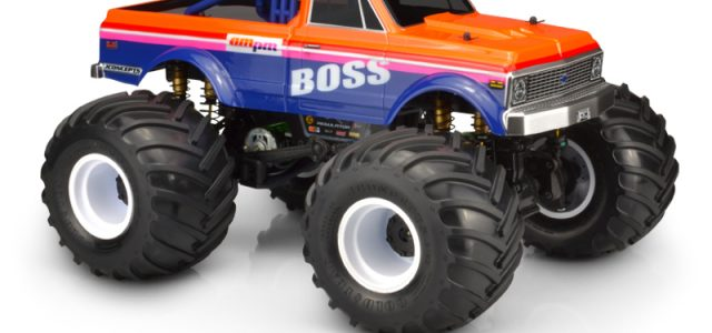 JConcepts 1970 Chevy K10 Clear Monster Truck Body