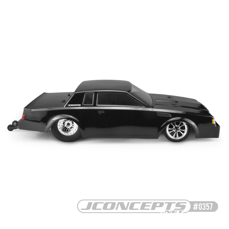 JConcepts 1987 Buick Grand National  Street Eliminator Clear Body