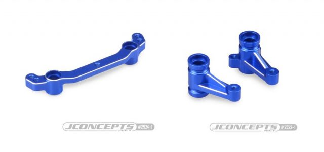 JConcepts  B74 Aluminum Steering Bell-Crank Set & +3mm Steering Rack