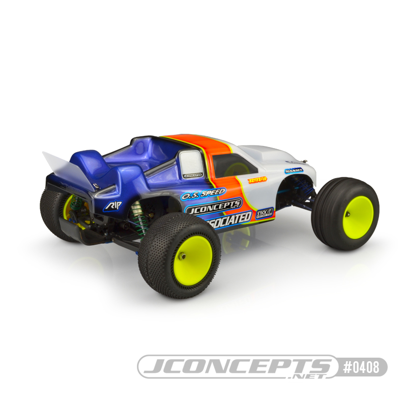JConcepts GTB2 Clear Body For The Team Associated RC10GT