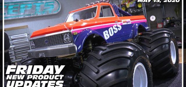JConcepts New Chevy K10 MT Body & B74 Center Diff Mount [VIDEO]