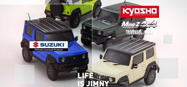 Kyosho Mini-Z 4×4 Jimmy Available In 4 Colors [VIDEO]