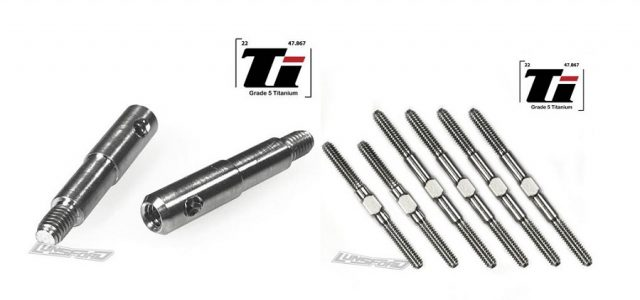 Lunsford 2mm Titanium Turnbuckle Kit & Titanium Axles For The Losi Mini-T