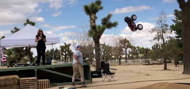Monster Truck Backflips & Bashing With Mugen's Ronda Drake [VIDEO]