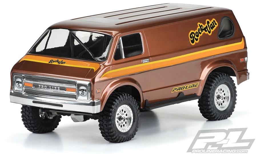 Pro-Line '70s Rock Van Clear Body