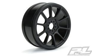 Pro-Line Mach 10 Black Wheels For 1/8 Buggy