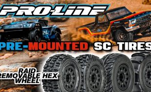 Pro-Line Pre-Mounted SC Tires | Raid 6×30 Removable Hex System [VIDEO]