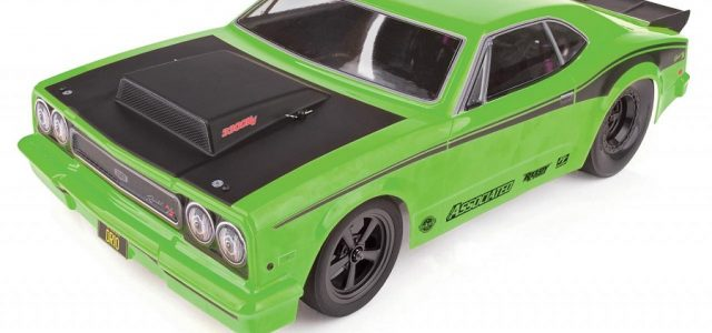 Team Associated DR10 Drag Race Car RTR Now Available With Green Body
