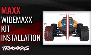 WideMaxx Kit Installation In A Traxxas Maxx [VIDEO]