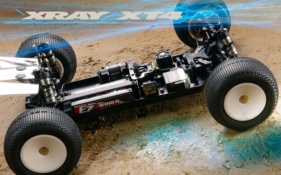 XRAY 1/10 Electric 4WD Truggy