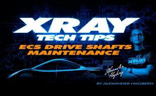 XRAY ECS Drive Shaft Maintenance [VIDEO]