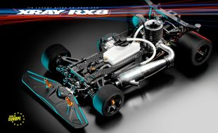 XRAY RX8 2021 Nitro 1/8 On-Road Car