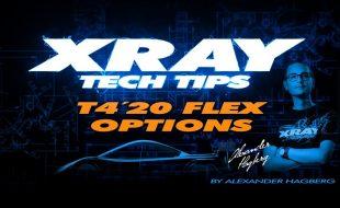 XRAY Tech Tips: T4'20 Flex Options [VIDEO]