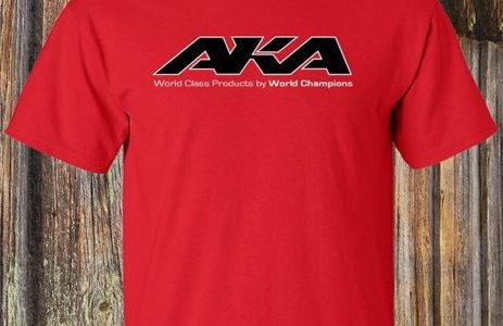 "AKA ""Logo"" Red T-Shirt"