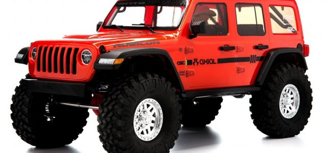 Axial 1/10 SCX10 III Jeep JLU Wrangler With Portals RTR [VIDEO]
