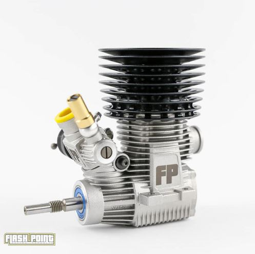 Flash Point FP01.21 Nitro Engine Combo With Steel Bearing & FP2500 Tuned Pipe/ Manifold