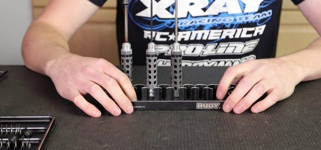 Hudy Tool Trays Pro Tips With XRAY's Ty Tessmann [VIDEO]