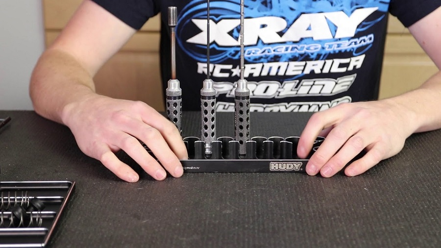 Hudy Tool Trays Pro Tips With XRAY's Ty Tessmann