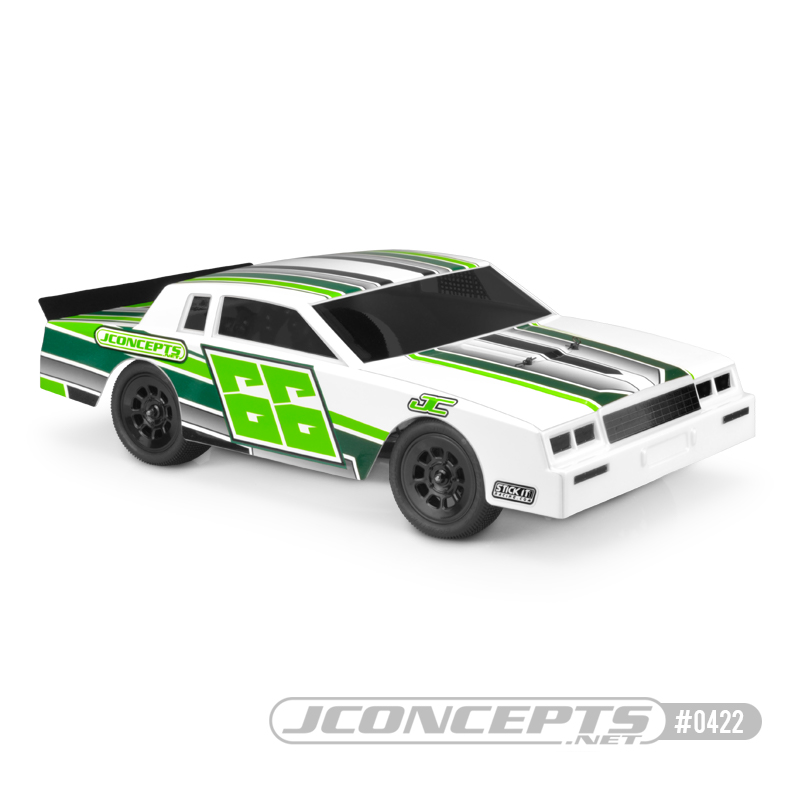 JConcepts 1987 Chevy Monte Carlo Street Stock Clear Body