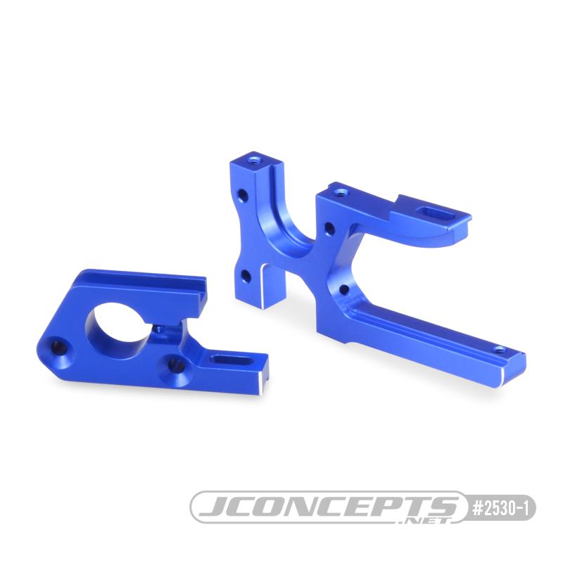 JConcepts B74 Aluminum Motor & Diff Mount Set