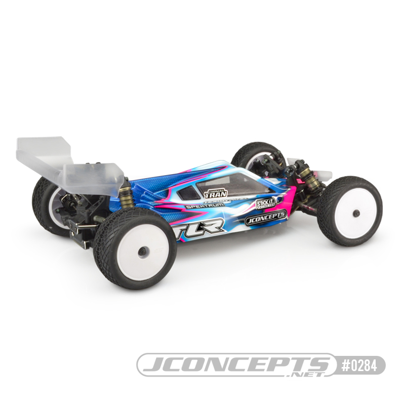 JConcepts P2 Clear Body & S-Type Wing For The TLR 22 5.0 Elite
