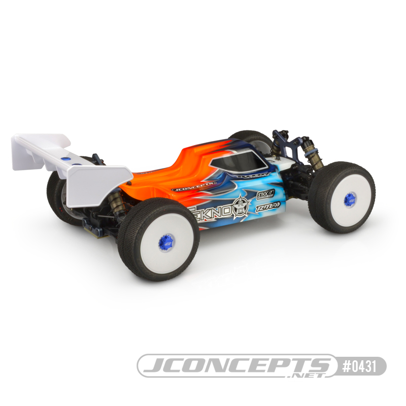 JConcepts S15 Clear Body For The Tekno EB48.4