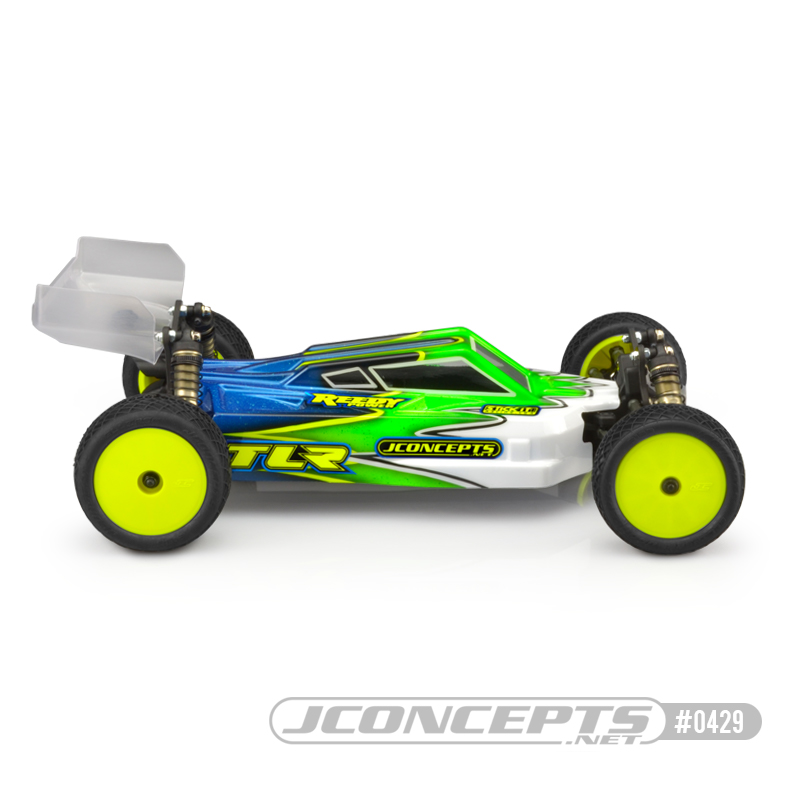 JConcepts S2 Clear Body & S-Type Wing For The TLR 22X-4