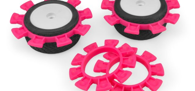 JConcepts Satellite Tire Rubber Bands Now Available In White, Pink & Green Color Options