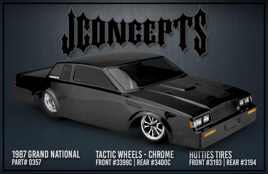 JConcepts Tactic Chrome Street Eliminator Wheels