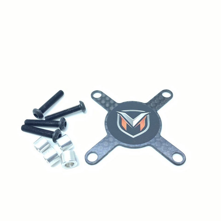 Maclan Racing Hurricane Motor Fans & Carbon Fiber Fan Guard Kit