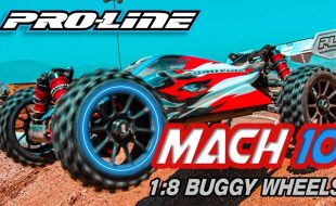 Pro-Line Mach 10 1:8 Buggy Wheels [VIDEO]
